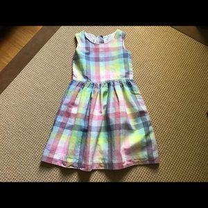 GAP Summer Plaid Dress, size L